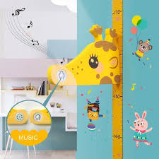 Removable Children 3d Height Measuring Instrument Height Chart Measure Wall Sticker Decal For Kids Baby Room Wall Stickers Art Wall Stickers Baby From Qiansuning888 69 81 Dhgate Com