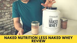 nutrition less whey review