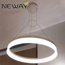 circle decorative lighting led pendant