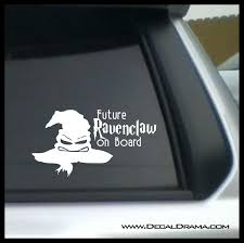 Future Ravenclaw On Board Harry Potter Inspired Fan Art Vinyl Car La Decal Drama