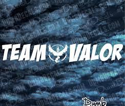 Team Valor Pokemon Go Windshield Decal Dumbdecals Com