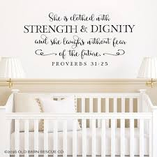 Proverbs 31 Wall Decal Girls Wall Decals Beautifully Designed