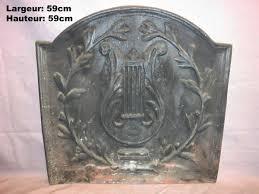 plate cast iron fireplace fire back