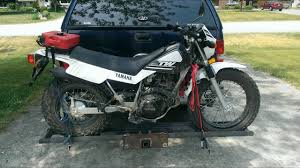 home made steel motorcycle carrier