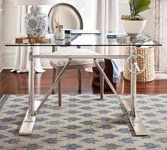 glass top desk for our home office