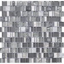 karma stone and glass mosaic tiles