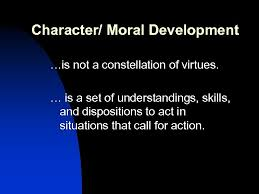 Moral Development Key Points Compiled by Adriana Murphy