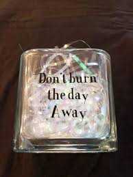 Dave Matthews Band Inspired Firedancer Coffee Rings Don T Burn The Day Away Glass Candle Holder