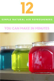 12 simple homemade air freshener