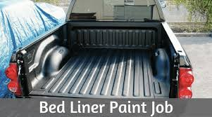 bed liner paint job cost pros and