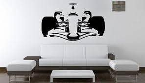Formula 1 F1 Fia Red Bull Ferrari Mercedes Wall Art Sticker Decal 1771 Murales Departamentos