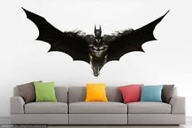 Batman Dark Knight Wall Decal Decor Stickers Vinyl Movie Games Kids Ebay