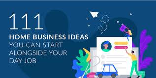 business ideas you can start alongside