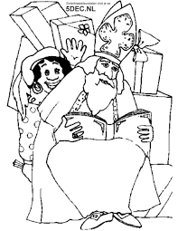 Sinterklaas Knutselen Sinterklaas Kleurplaten Boek Van Sinterklaas