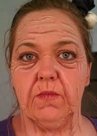 middle aged woman se makeup