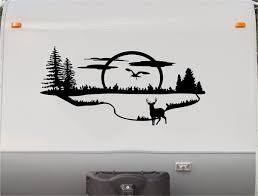 Rv Campers Replacement Decals Trailer Motorhome Stickers Animals