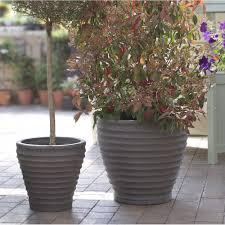 outdoor large plastic patio planters