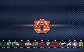 Auburn Football 2019 Schedule Wallpaper ...
