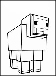 Kleurplaten Voor Kinderen Printen Minecraft 17 Minecraft