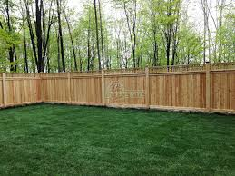 Wood Double Sided Privacy Montgomery County Pa Commercial Residential Fencing