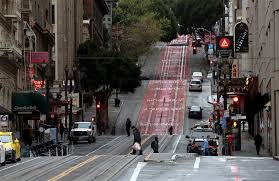 Everything is out of our control': San Francisco eases into lockdown