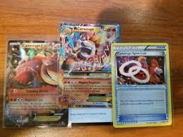 Pokemon Mega Camerupt EX Bundle Camerupt EX 29/160, XY198, XY199 ...