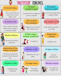 english idioms arranged in categories