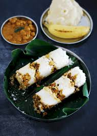 Mutta Puttu (Steamed Rice Cakes With Eggs And Coconut)