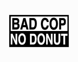 Bad Cop Decal Etsy
