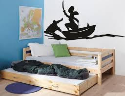 Peter Pan Wall Decal Cartoon Decals Pirates Ship Decal Hook Etsy