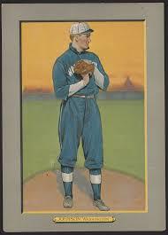 Walter Johnson, Washington Nationals, baseball card portrait] | Library of  Congress