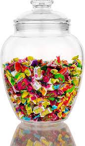 modern innovations 128 ounce candy jar
