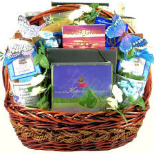 serenity and peace sympathy gift basket