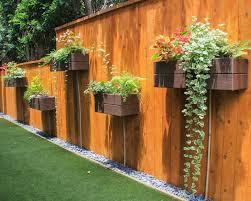 Unique Hanging Herb Garden Diy Landscaping Backyard Landscaping Designs Modern Wood Fence