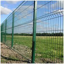 Shs Post Welded Mesh Fence