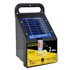 2 Mile Fence Charger 2 Mile Solar Charger Zareba Esp2m Z