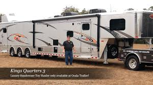 luxury toy hauler by ocala trailer