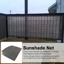 Balcony Privacy Screen Sunshade Wind Protection Panel Windbreak Fence Terrace Ebay