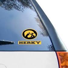 Iowa Car Decals Iowa Hawkeyes Bumper Stickers Decals Fanatics