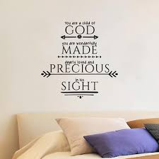 Psalm 1 39 A Child Bible Quote Wall Sticker Home Room Vinyl Art Decal Decor Ebay