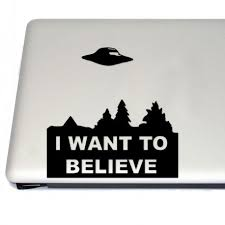 I Want To Believe Vinyl Decal Vinyl Decal Sticker Free Us Shipping For Car Laptop Tablets