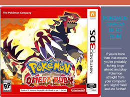 Pokemon Omega Ruby ROM Release Date is precisely. You could play it just on  Nintendo 2DS… in 2020 | Pokemon omega ruby, Pokemon omega, Pokémon omega  ruby and alpha sapphire