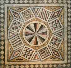 geometric patterns from roman mosaics