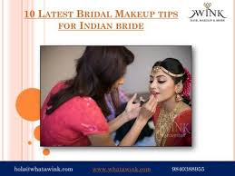 10 latest bridal makeup tips for indian