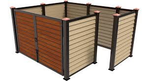 Covrit Dumpster Enclosures Elegant Durable And Made To Order