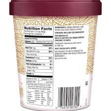 haagen dazs nutrition label labels