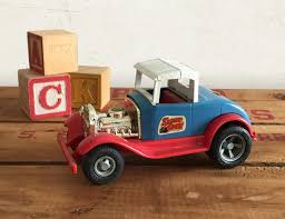 An Original 1962 Vintage Tonka Diecast Pressed Steel And Plastic Smart Cart This Very Colorful And Playful Car Would Make A Ni Fun Decor Door Decals Kids Room