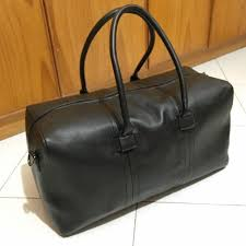 zara black duffle bag holdall bag