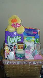 diy baby shower baskets for presenting