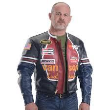 original star racing leather jacket